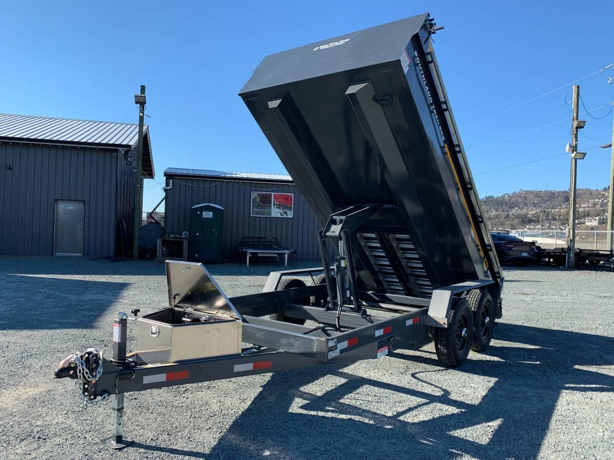 Maple Ridge Dump >> SL280 7x14 Dump (sl280) - Wholesale Trailers - Fraser ...