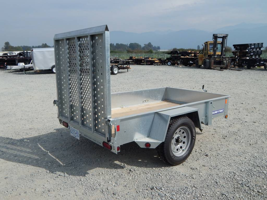 5 X 8 Galvanized Utility Trailer St6008 Wholesale
