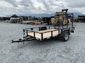 6' x 10' Tube Top Utility Trailer