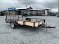 6' x 12' Tube Top Utility Trailer