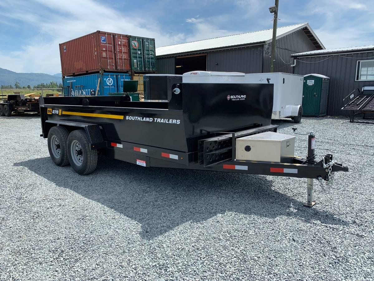 Sl270 7x14 Dump Sl270 Wholesale Trailers Fraser Pacific Equipment